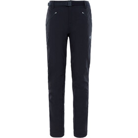 The North Face Exploration Insulated Pantalones Largo Mujer, tnf black
